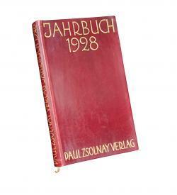 Zsolnay Almanach 1928 Einband