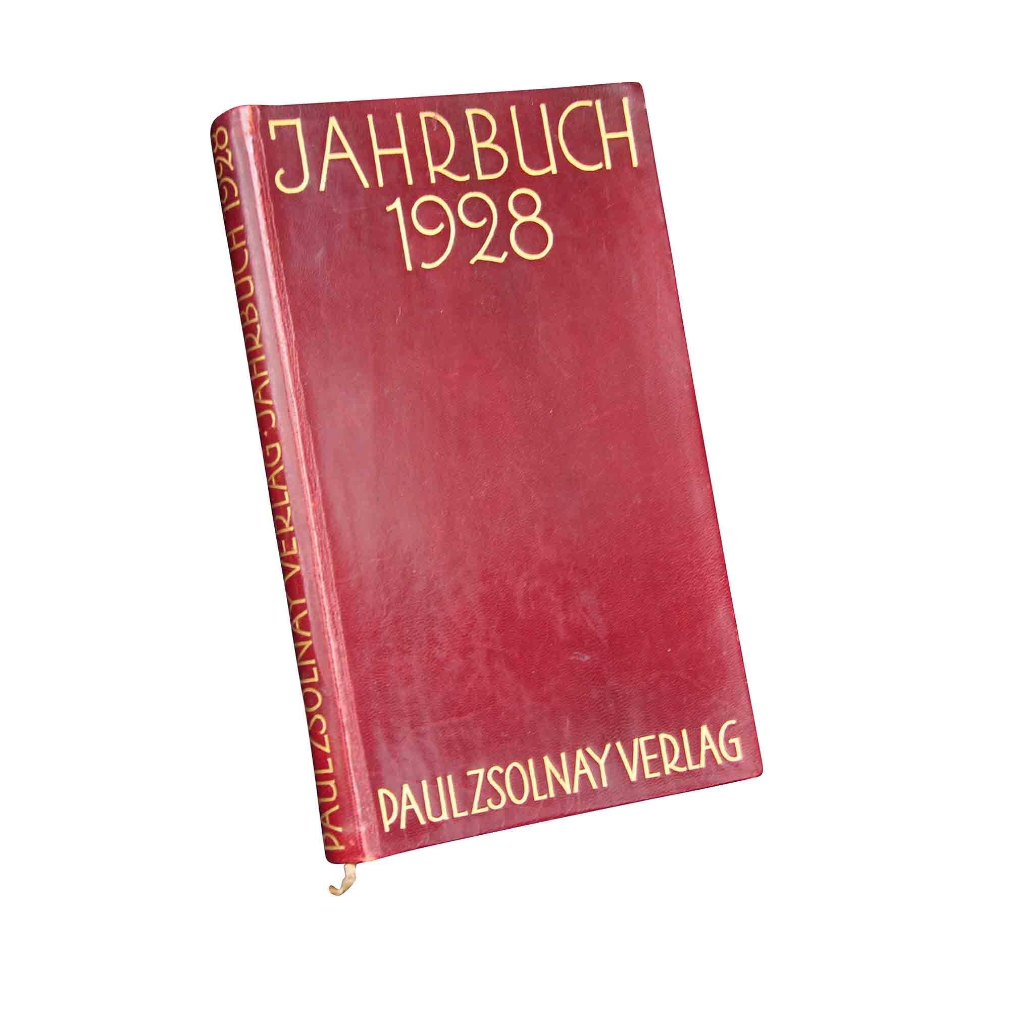 1104 Zsolnay Almanach 1928 1 frei A N
