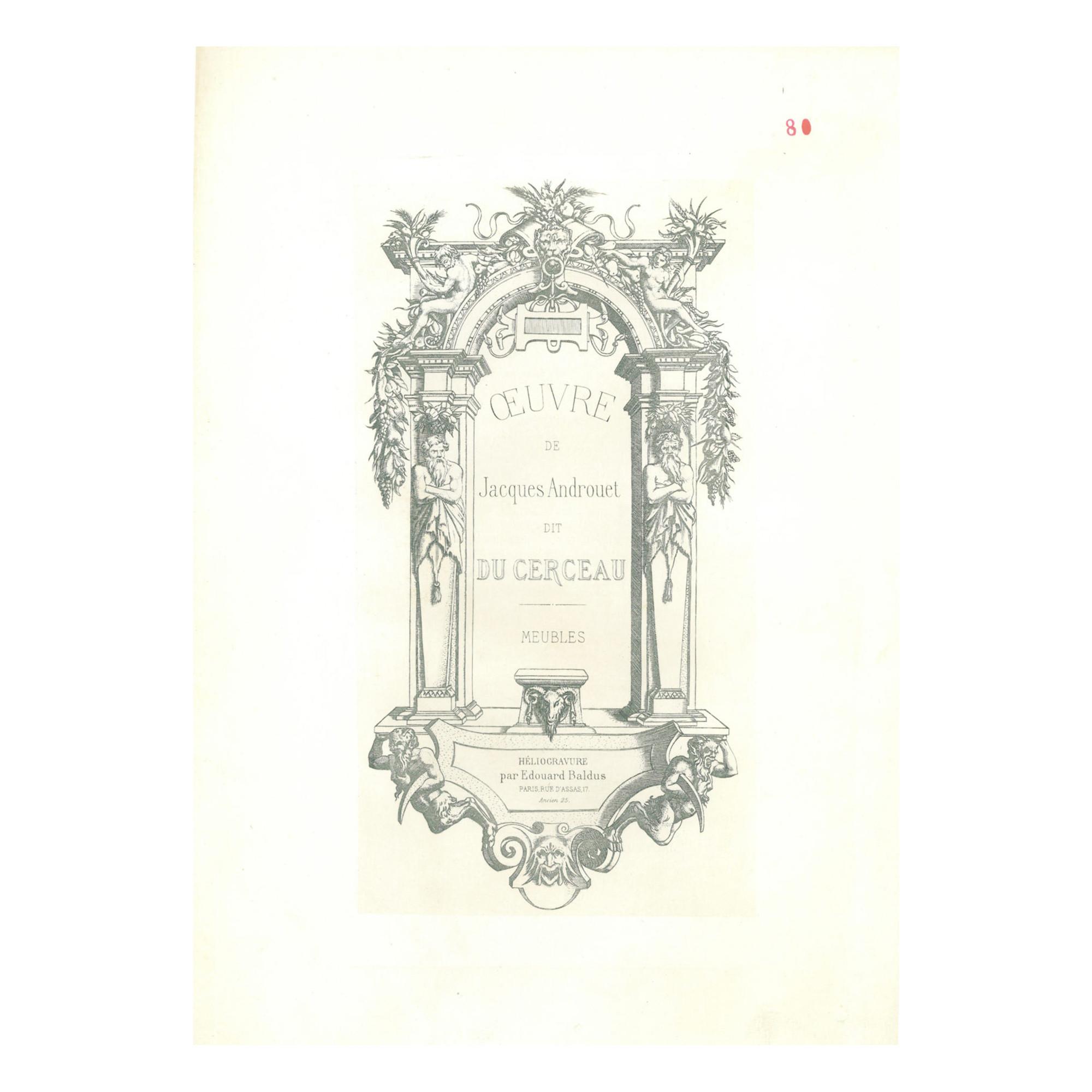 Französische Möbel ...