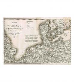 Klenner Handelskarte Österreich 1833
