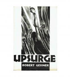 essner Upsurge 1933 Holzschnitt Lynd