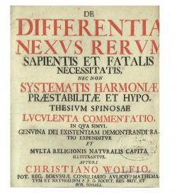 Wolff Differentia 1724