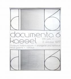 Plakat Documenta Kassel 1977