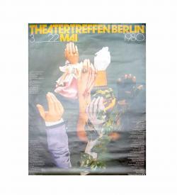 Plakat Theatertreffen Berlin 1980