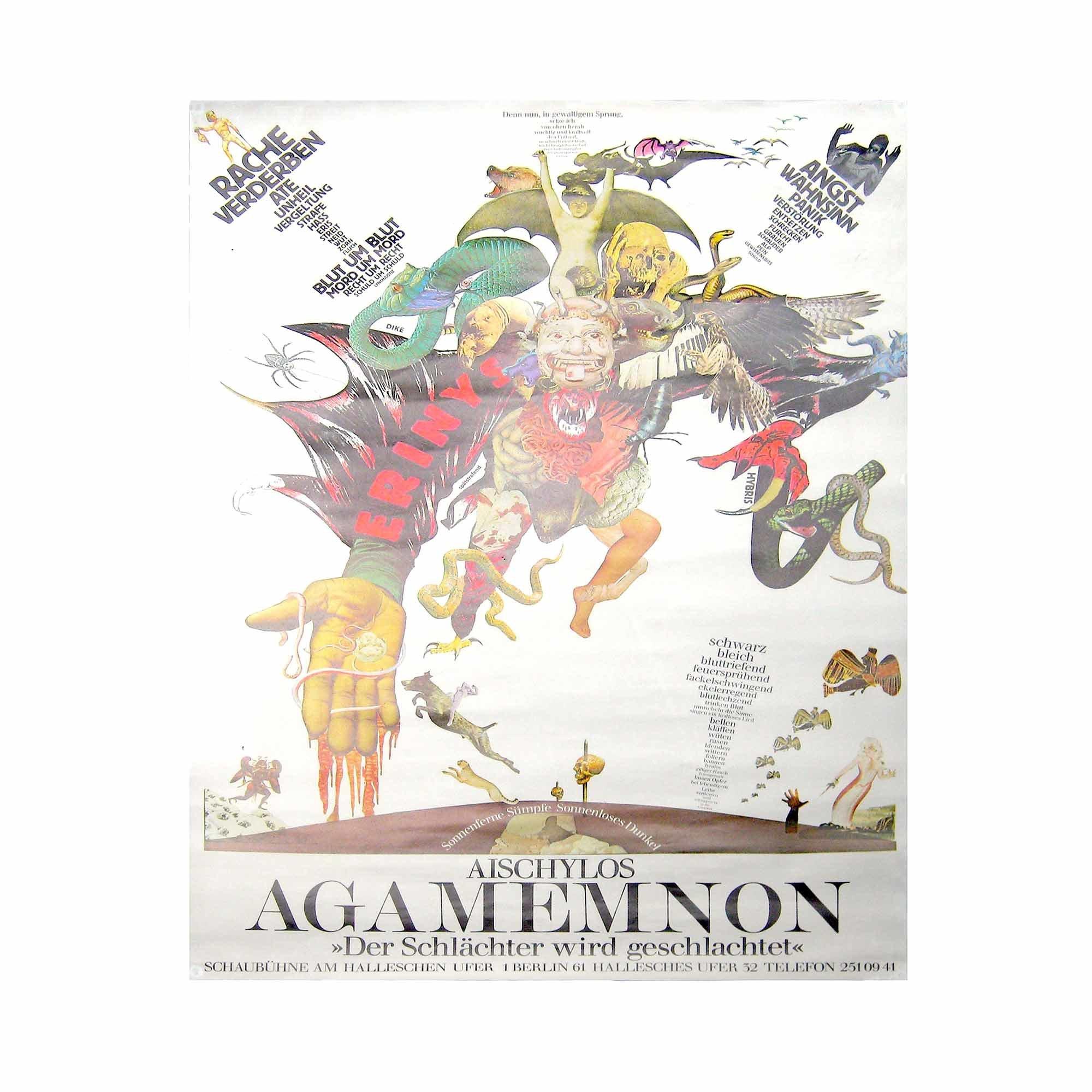 8055 Antikenprojekt Agamemnon Schaubühne 2 1980 1 N