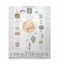 Antikenprojekt Choephoren Schaubühne 3 1980 1