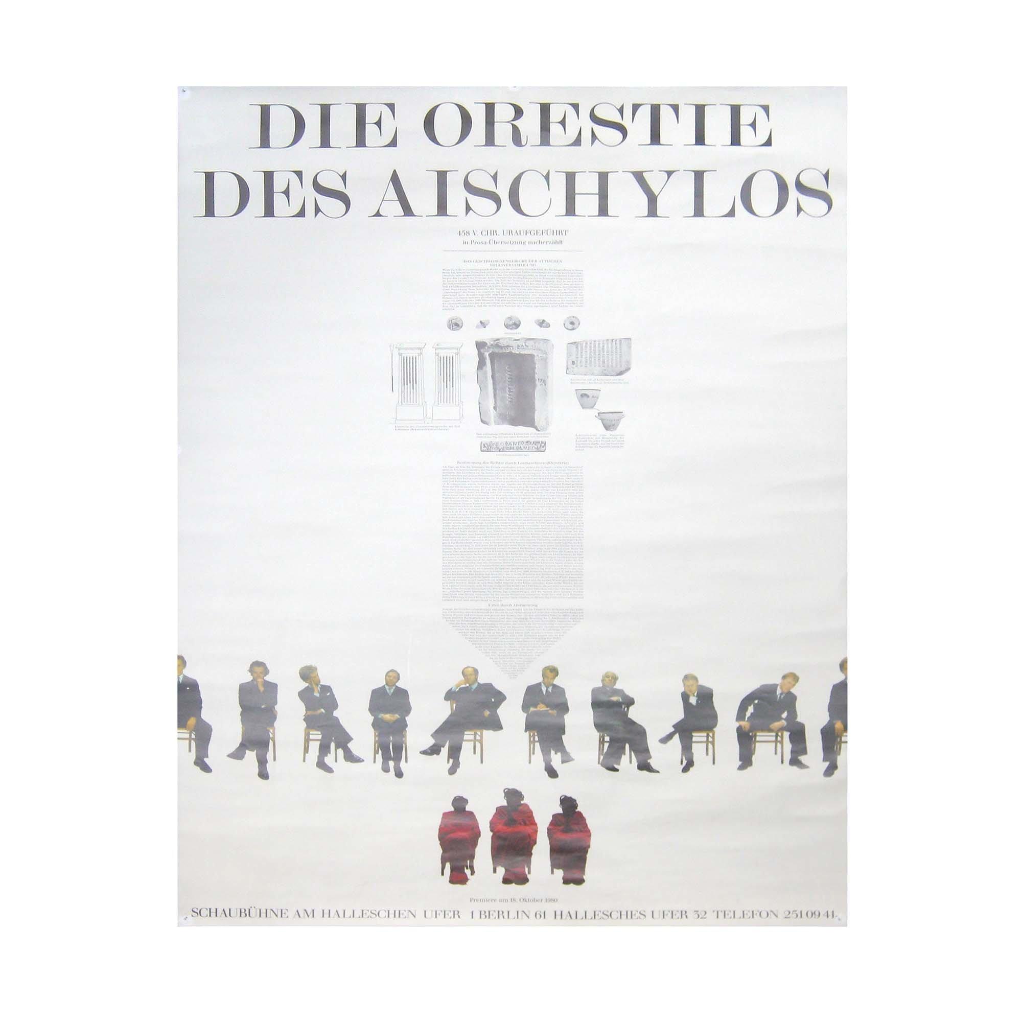 8055 Antikenprojekt Orestie Schaubühne 1 1980 1 N