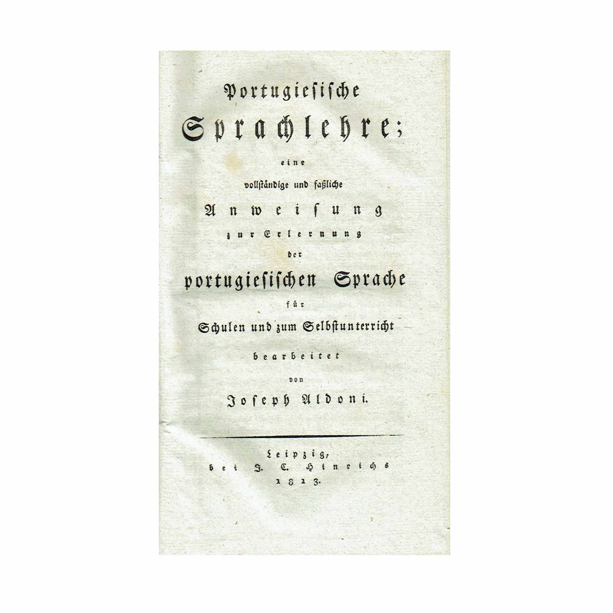 1134 Aldoni Sprachlehre 1813