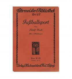 Hoch Fussballsport 1911