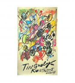 Plakat Tinguely 1982 Seriegrafie