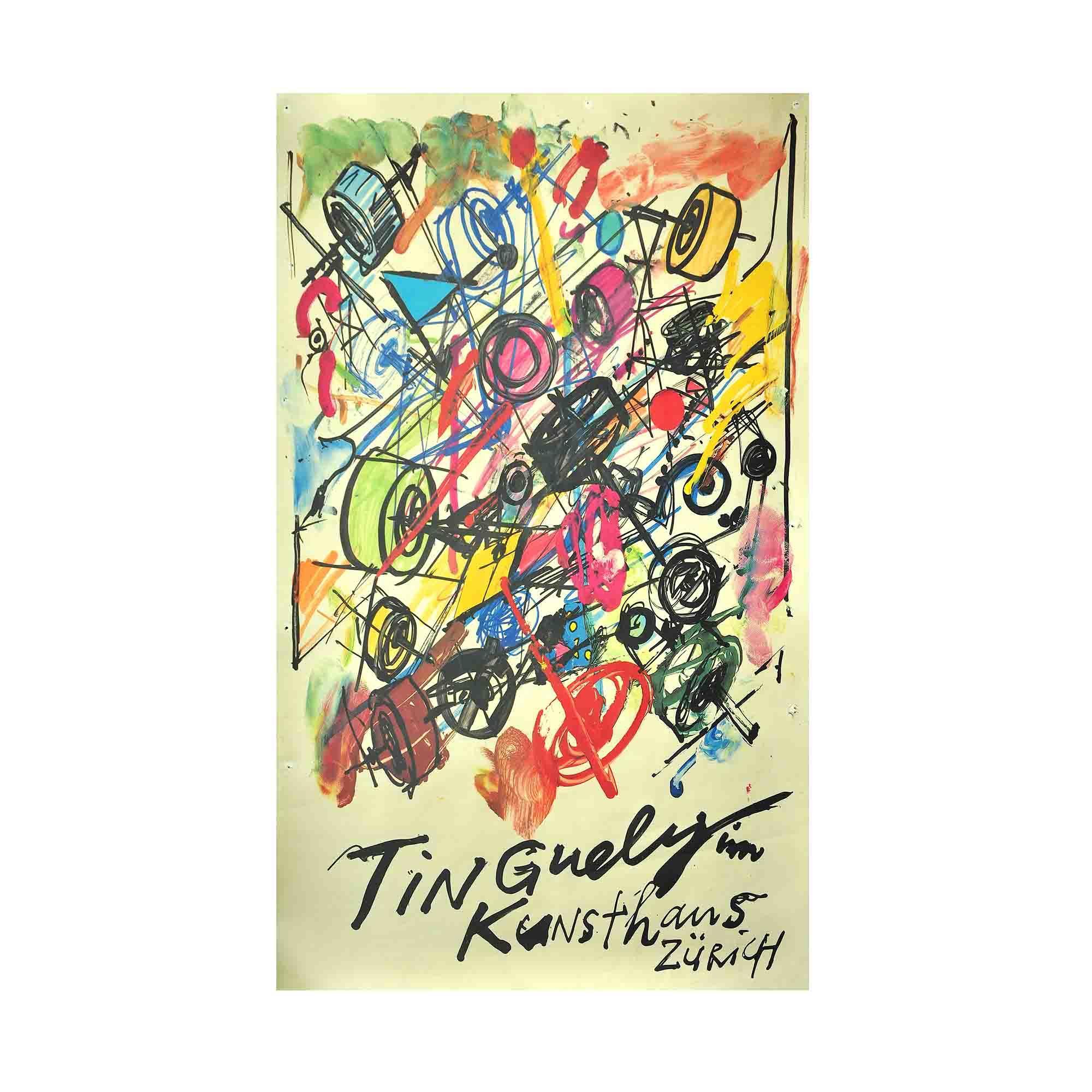 5172 Plakat Tinguely 1982 N