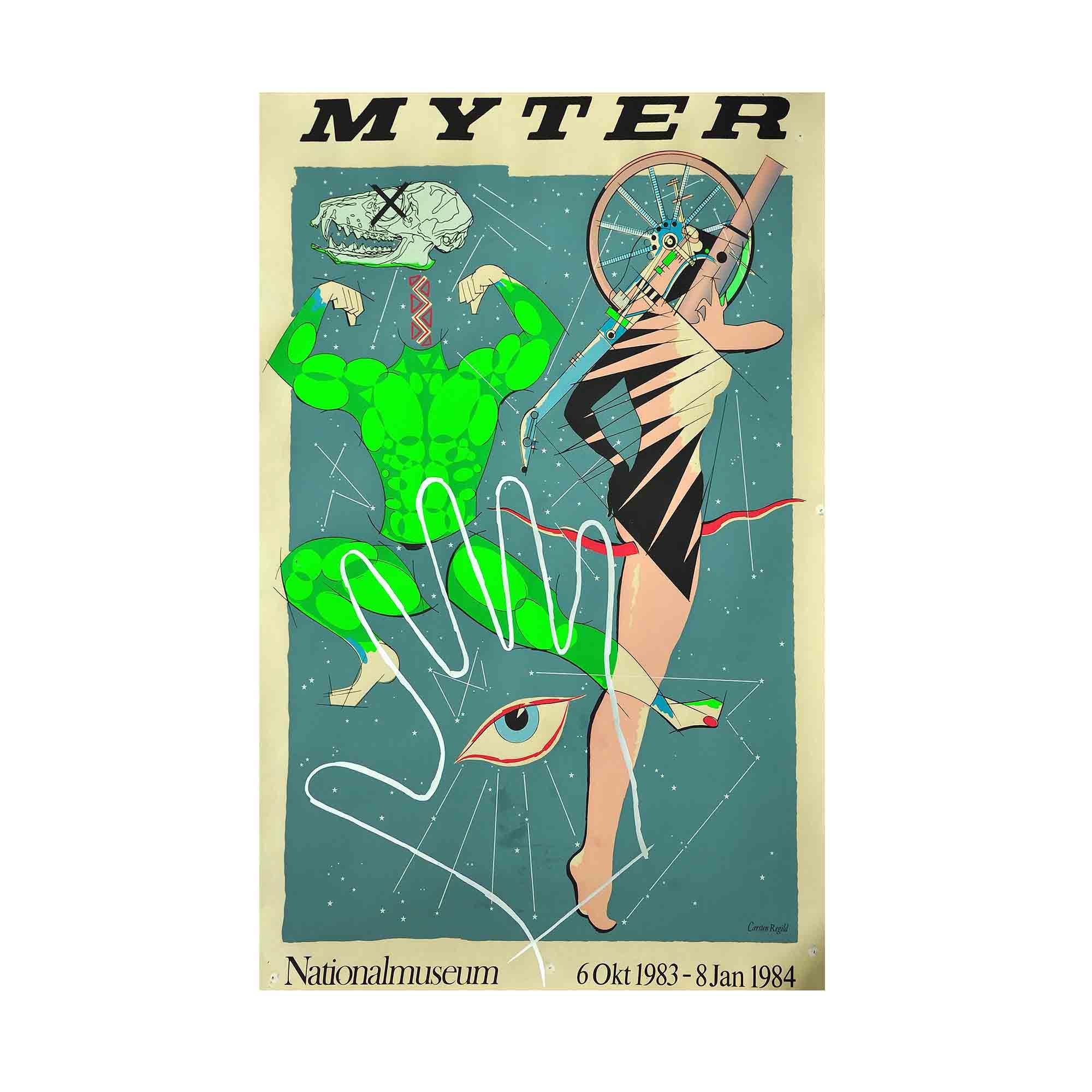 5173 Plakat Regild Myter 1984 N
