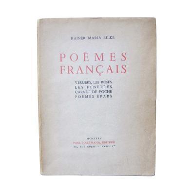 Rilke Poemes Francais 1930