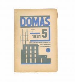 Domas Strunke VIII 5 1931 Cover