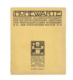 Hohe Warte I 4 1904 1905 Ur Wiener Werstätte