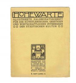 Hohe Warte II 4 1905 1906 Kolo Moser jewellery