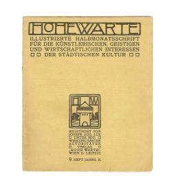 Hohe Warte II 9 1905 1906 Masjutin