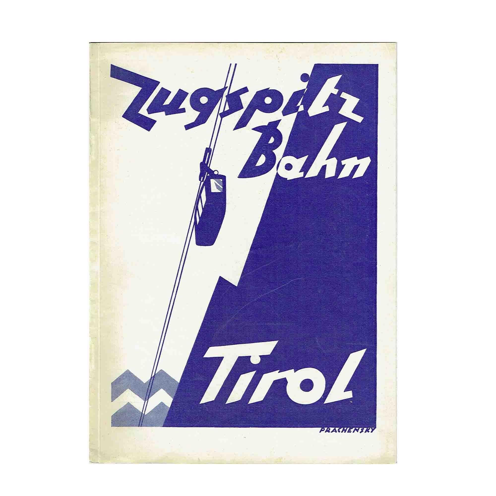 5311 Prachensky Zugspitze Tirol Cover N
