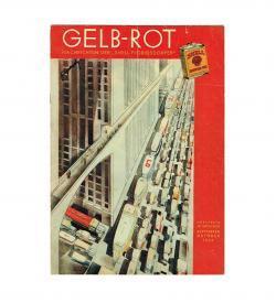 Filipovsky Shell Gelb-Rot Oktober 1932 Cover
