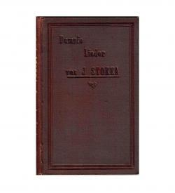 Stokka Lieder 1893 Widmung Siebenburgen