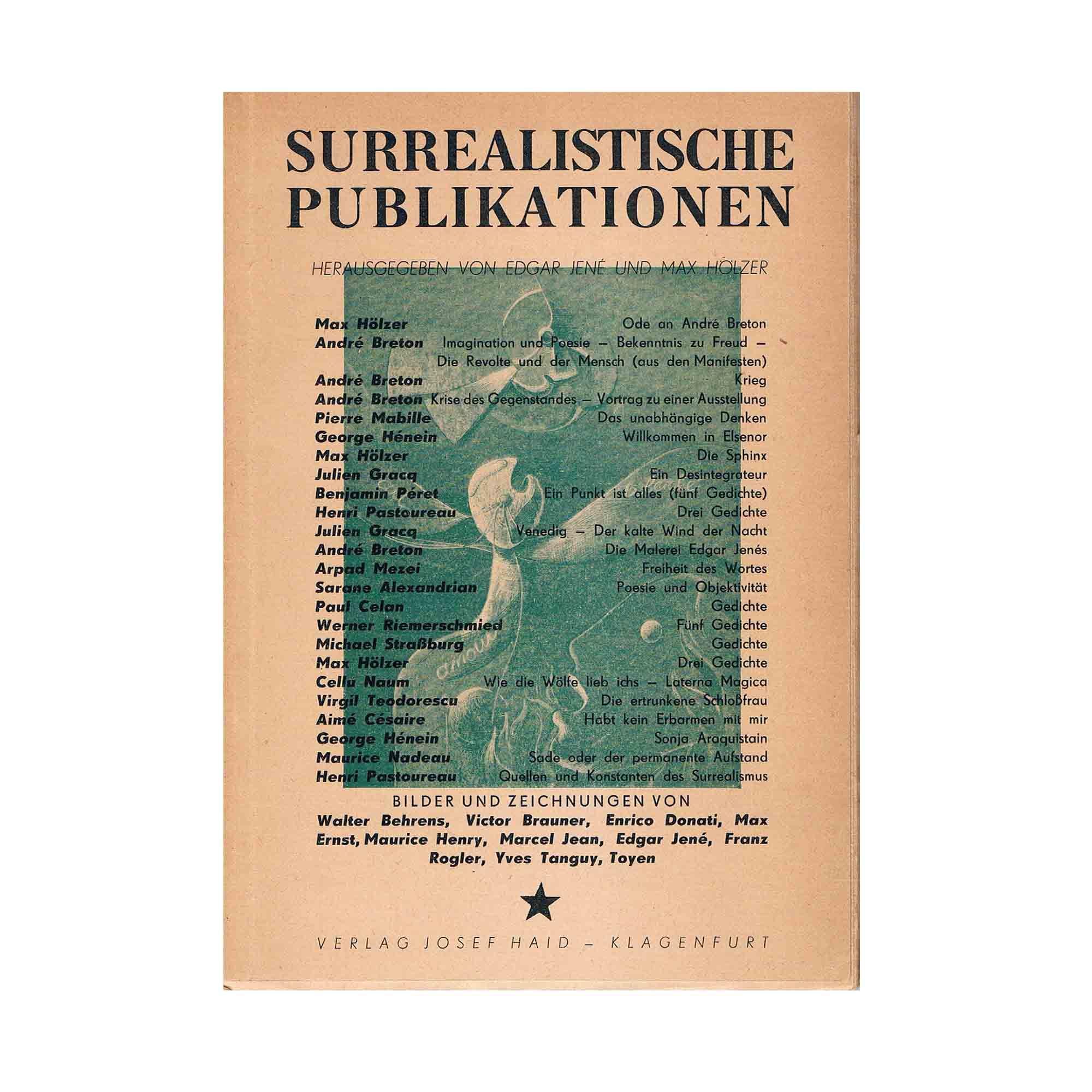 Jene Hölzer Surrealismus 1950 I Umschlag N