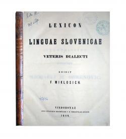 Miklosich Lexicon slovenicae 1850