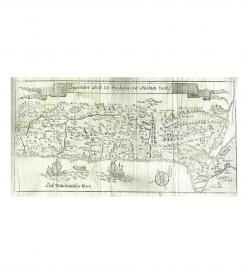 Cochem Christi 1762 1763 Karte Palästina