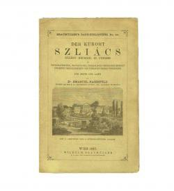 Hasenfeld Kurort Szliacs 1867 Umschlag
