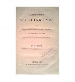 Masch Gesteinkunde 1859