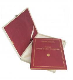 Gedenkbuch Silbernes Kreuz 1917 Kassette Einband