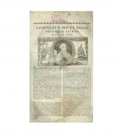 Leopold II Franz II Articuli Decretales 1790 1812