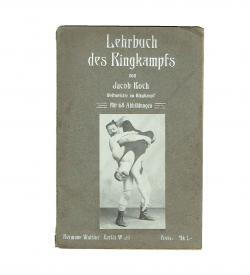 Koch Ringkampf 1909 Einband