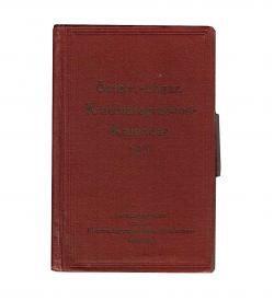 Kinematographen-Kalender 1915 Einband