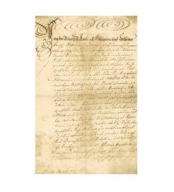 Bolza Schriftstück Medikamente 1773