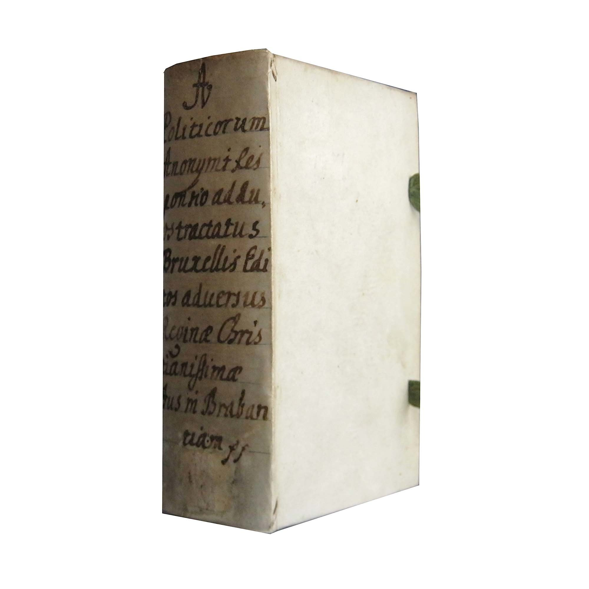 Joly Responsio Jus in Brabantiam 1667 Einband frei N