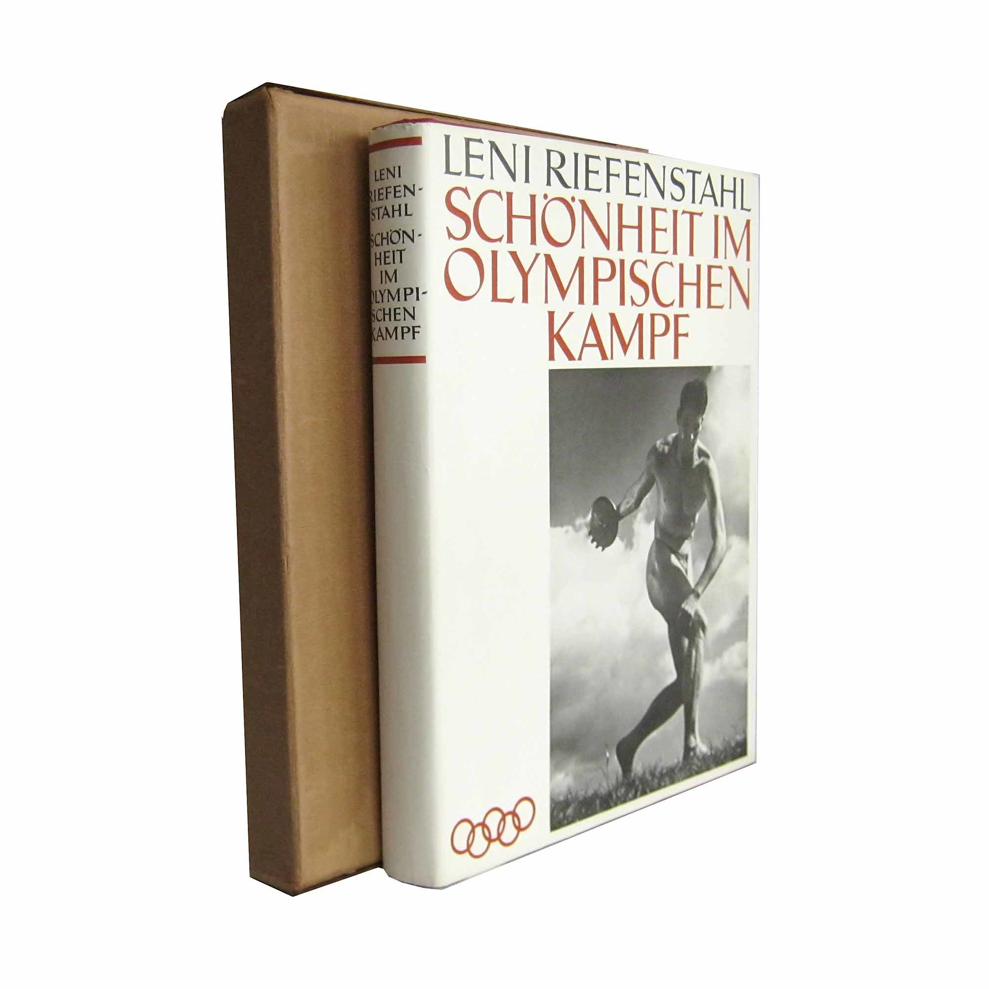 Riefenstahl Schönheit 1937 Umschlag Schuber frei N