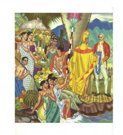 Savage Hawaii Menus 1948
