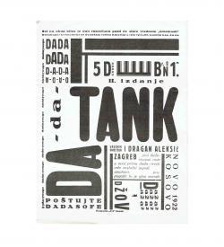 Aleksic Dada-Tank 1922 Nachdruck 1971