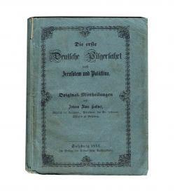 Kaltner Jerusalem Palaestina 1855 Umschlag