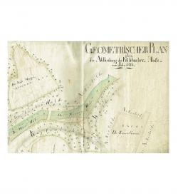 Gut Wartenberg Fischbach 1761 1846 Plan