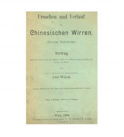Wojcik Chinesische Wirren 1902 Umschlag