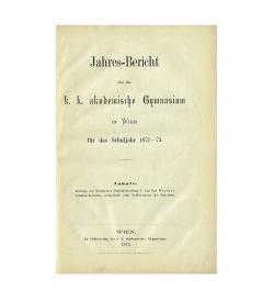Hintner Dialekt Defreggen 1873 Titelblatt