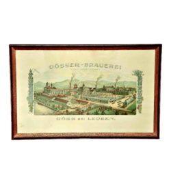 Plakat Brauerei Göss um1930