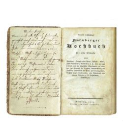 Nürnberger Kochbuch 1829