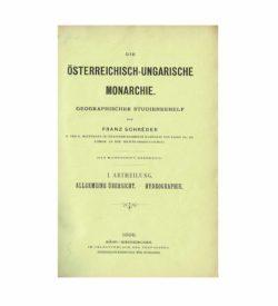 Schréder Geographie 1897 1899 Titel