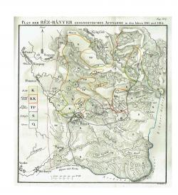 Acta Musei Hungarici 1818 Karte