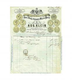 Klein Erzherzog Ernst Rechnung 1866