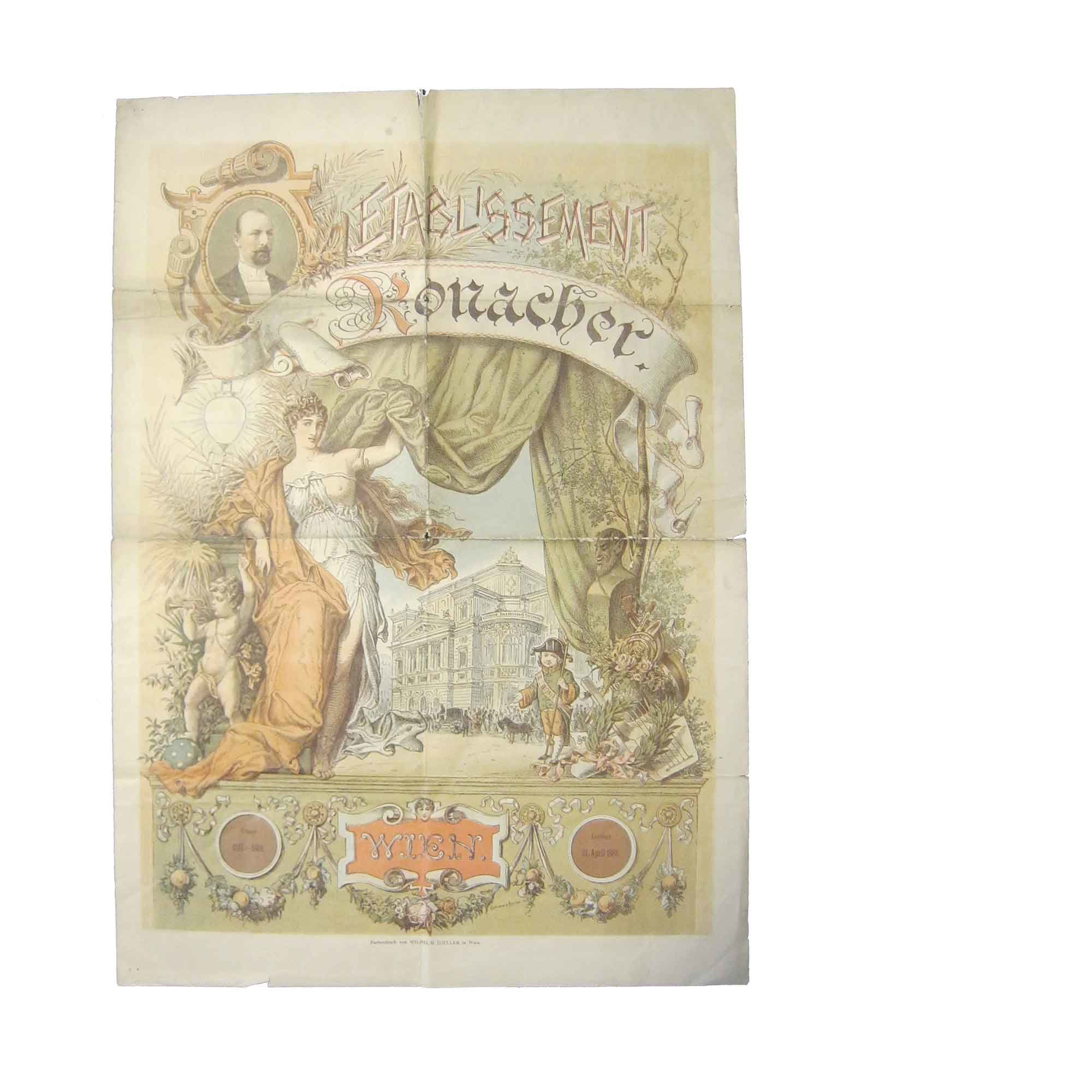 5458 Ronacher Plakat 1888 r N