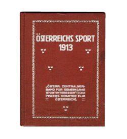 Österreichs Sport 1913 Einband