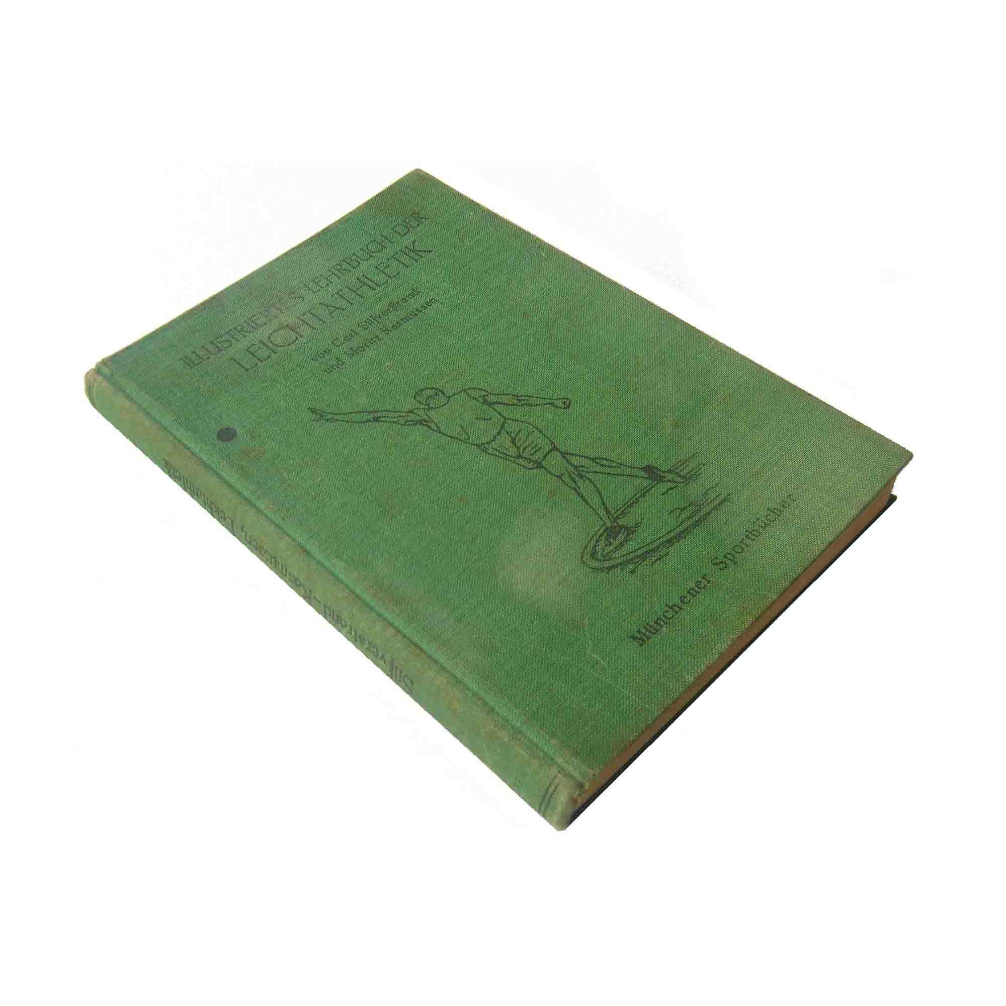 5478 Silfverstrand Lehrbuch Leichtathletik 1925 Einband A N